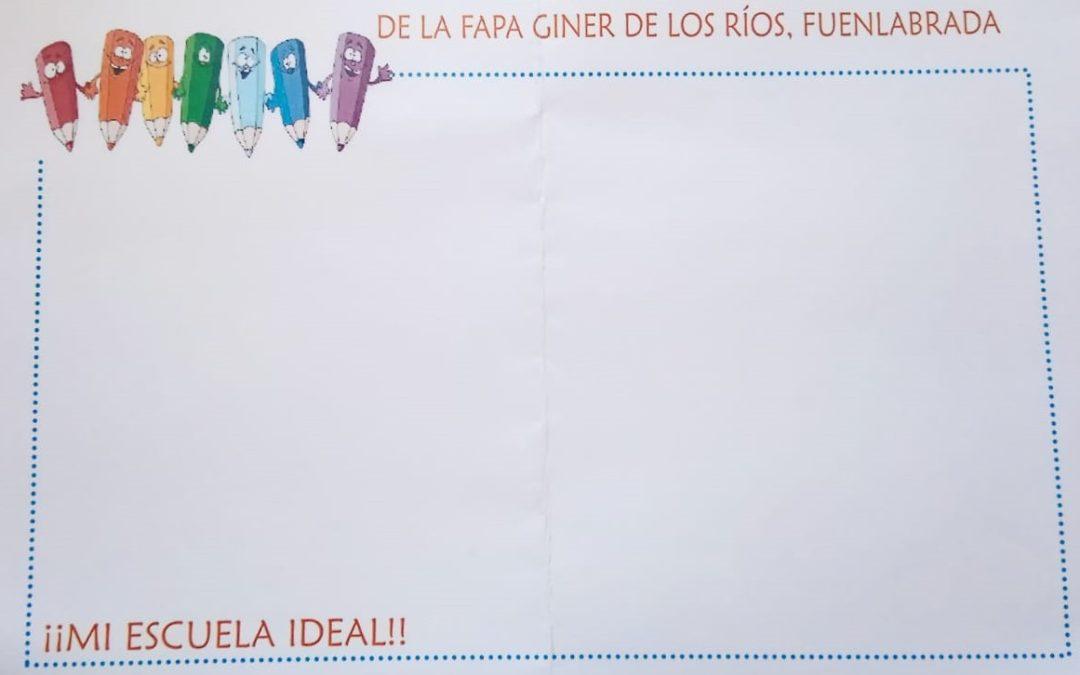 II Concurso de Dibujos de la FAPA Giner de los Rios.